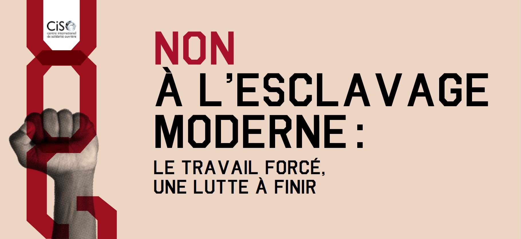 CISO | 2018-2019 : NON à l\'esclavage moderne : le travail ...